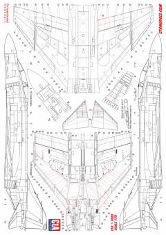 CTA 1/72 F-4B/J/N Phantom technical data stencils